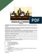 Charte de La Transition
