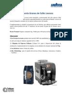 Propuesta Granos de Cafés Lavazza MEROL