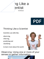 ch 1 sec 1  thinking like a scientist - upload
