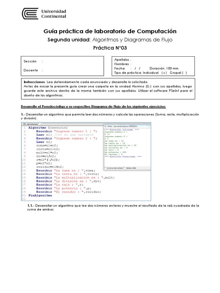 Guia de practica 03 desarrollo ccuart Gallery