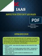 Aspectos Etico Legales IAAS