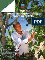 2015 Chevron Corporate Responsibility Report