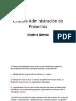 Cátedra Administración de Proyectos Virginio Gómez 1 copy