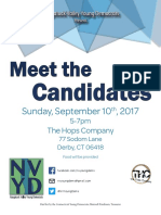 Meet the Candidates Flyer