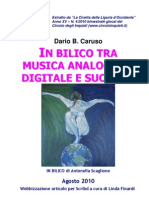 In bilico tra musica analogica, digitale e suonata