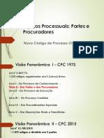 Sujeitos Processuais Slides