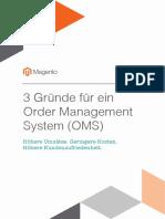 3 Gründe für ein Order Management System (OMS)