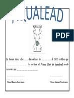 Diploma Aqualead
