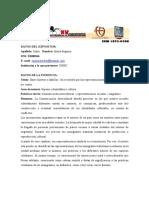 Reprsentacionbolivianosriocuarto2011isjornadas Red - Ponenci
