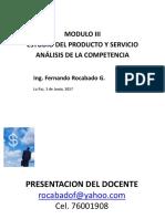Modulo 3 Investigacion Encuestas y Muestreo Rocabado 3 Jun 2017