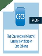 CSCS Presentation