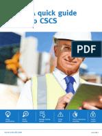 CSCS Quick Guide
