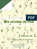 Mis Recetas de Miel - Patricia Vit