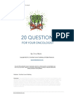 20 Questions for Your Oncologist Transcript