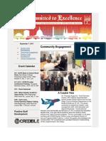 Newsletter 9-7-17
