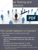 Employee Testing & Selection Ppt Self1.5