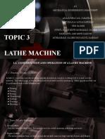 Topic3 Lathe Machine