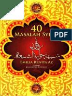 40 Masalah Syiah - Ijabi