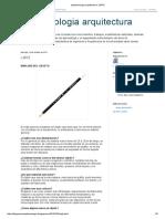 Epistemologia Arquitectura_ LAPIZ