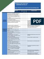 Evaluación Técnica Estudios Estabilidad