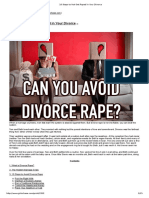 10 Steps to Not Get Raped in Your Divorce