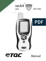 Dewcheck 4 Series 2 Dewpoint Meter Dpm Dewmeter Dc7100 m44