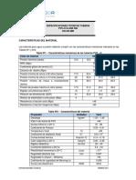 Especificación técnica PVC-O DN 225MM