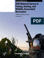 2016 National Survey of Fishing, Hunting, and Wildlife-Associated Recreation