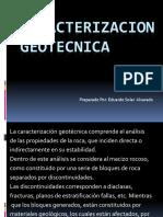 CARACTERIZACION Geotecnica