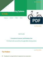EcoShare.bike Presentation v 2.1