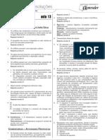 Biologia - Caderno de Resoluções - Apostila Volume 3 - Pré-Universitário - Biologia2 - Aula13