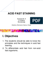 3.2 Acid Fast Staining