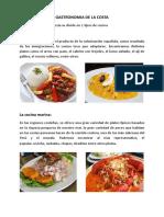 Gastronomia de La Costa
