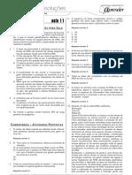 Biologia - Caderno de Resoluções - Apostila Volume 3 - Pré-Universitário - Biologia3 - Aula11