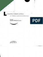 Bonete - La Política Desde La Ética - II. Problemas Morales de Las Democracias
