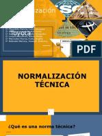 Normalización Técnica y Sistema Toyota