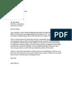 Elon Musk Letter 2017