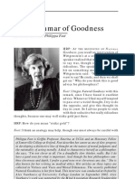 Grammar of Goodness
