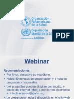 Webinar Medidas de Prevención de Las Infecciones Del Sitio Quirúrgico