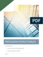 PATOLOGIAS ESTRUCTURALES - ANTISISMICA