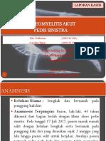 Lapsus osteomyelitis