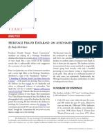 Heritage Fraud Database