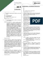 Biologia - Caderno de Resoluções - Apostila Volume 4 - Pré-Universitário - Biologia1 - Aula18