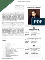 Diego Portales - Wikipedia, La Enciclopedia Libre