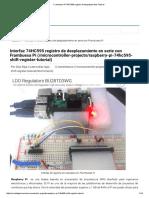 Frambuesa Pi 74HC595 Registro de Desplazamiento Tutorial