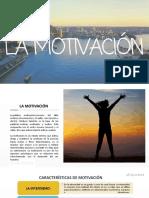 la motivacion