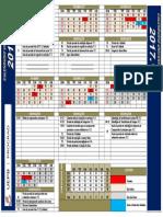 Calendário uepb