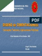 Diseno Cimentaciones CIP PPT