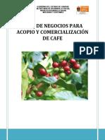Plan de Negocios Para Acopio y Comercializacion de Cafe