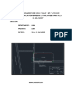 Proyecto Mejoramiento Calle 1 - 1